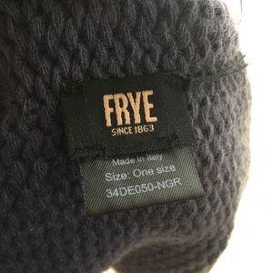 Frye Accessories - Frye Dip Dye Ombre Navy Gray 100% Cashmere Beanie